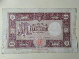 1000 Lire 1946 - [ 2] 1946-… : Républic