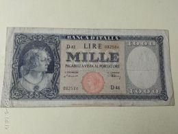1000 Lire 1947 Testina - [ 2] 1946-… : Républic