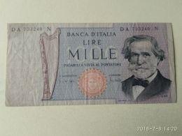 1000 Lire 1969 - [ 2] 1946-… : Républic