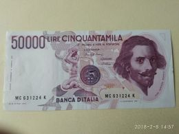 50000 Lire 1984 - [ 2] 1946-… : Républic