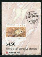 Australia, Yvert Carnet1249b, Scott 1246b, SG SB78a, Overprinted Brisbane, MNH - Carnets