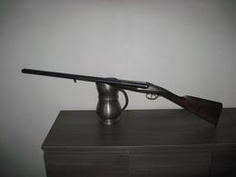 Ancien Fusil Juxtaposé Halifax Licence Darne Calibre 16 - Armes Neutralisées