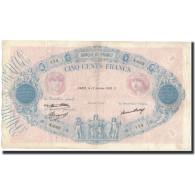 France, 500 Francs, 1933-01-12, KM:66m, TB+, Fayette:30.36 - 1871-1952 Anciens Francs Circulés Au XXème