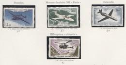 France Poste Aerienne N° 38 à 41** Prototypes De 1954-59 - 1960-.... Nuevos