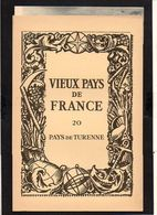 """1930 Pub.Marinier Vieux Pays De France N°20 """"Pays De Turenne"""" Carte 17é + Photos,Turenne,Carennac,Collonges,Obazine - France"""