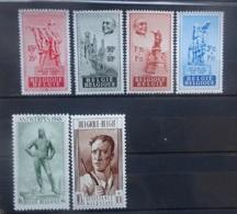 BELGIE 1948    Nr. 781 - 784 / 785 - 786  Spoor Van Scharnier *       CW  47,00 - Unused Stamps