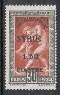 SYRIE N°124 N* - Syrie (1919-1945)