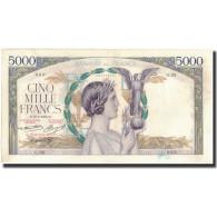 France, 5000 Francs, 1935-05-16, KM:82b, TTB+, Fayette:44.2 - 1871-1952 Anciens Francs Circulés Au XXème
