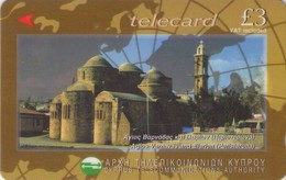 TARJETA TELEFONICA DE CHIPRE. 25CYPH (160). - Chipre