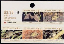 Australia, Yvert Carnet 1250b, Scott 1246c, SG1328qa, 1 Koala, MNH - Carnets