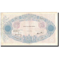 France, 500 Francs, 1939-10-19, KM:88c, TTB, Fayette:31.44 - 1871-1952 Antichi Franchi Circolanti Nel XX Secolo