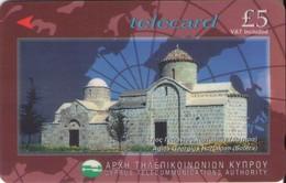 TARJETA TELEFONICA DE CHIPRE. 25CYPG (161). - Chipre