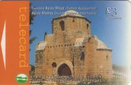 TARJETA TELEFONICA DE CHIPRE. 25CYPP (163). - Chipre