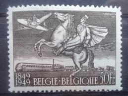 BELGIE 1949    Nr. 810  A      Spoor Van Scharnier *      CW  20,00 - Unused Stamps