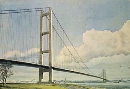 YORKS - HULL - PROPOSED HUMBER BRIDGE - ART - Hull
