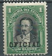 Equateur -  Service   -  Yvert N°  127 *  -  Po56417 - Ecuador