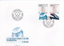 Liechtenstein 1988 FDC Europa CEPT (G89-3) - Europa-CEPT