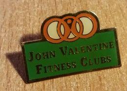"Pin's "" John Valentine Fitness Clubs "" - Gymnastics"
