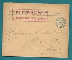 TRÉSOR Et POSTES *220* (payeur Général De PARIS) - Lettre Du 10.12.1914 // Par Exprès - 1. Weltkrieg 1914-1918