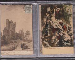 Lot , Musée Royale D'anvers édition G Hermans , Gelopen Kaarten Omstreeks 1909, Mooie Kleine Verzameling In Album - Sin Clasificación