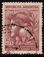 ARGENTINIË -   1943- YT. Nr. 429  - POSTCONFERENTIE - Gebruikt/used/oblit/ Gebraucht  - ° - Argentine
