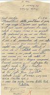 -= WW2 - Lettre D'un Prisonnier De Guerre Italien En PALESTINE - 1946 =-       MILAN - Marcophilie (Lettres)