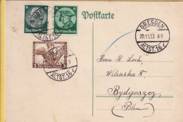 GERMANIA  REICH - 1943-FEDERICO IL GRANDE - HINDENBURG - OPERE MUSICALI SU CARTA POSTALE. - Allemagne