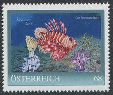 ÖSTERREICH / 8126043 / Der Rotfeuerfisch / Postfrisch / ** / MNH - Personalisierte Briefmarken