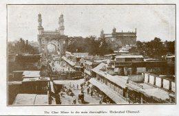 PAKISTAN (India) - The Char Minar In The Main Thoroughfare Hyderabad (Deccan). - Pakistan