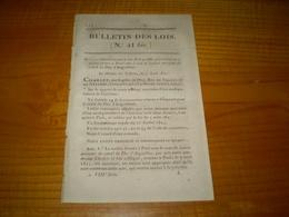 41 Bis.Sté Du Canal Du Duc D'Angoulème,administration,actions. Sté Anonyme Du Canal Des Ardennes,administration,actions. - Decrees & Laws