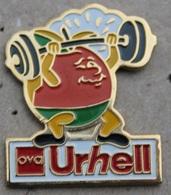 HALTEROPHILIE - URHELL - OVA - FRUIT -       (JAUNE) - Weightlifting