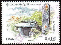 Oblitération Cachet à Date Sur Timbre De France N° 4882 Série Touristique - Locmariaquer (Morbihan) - France