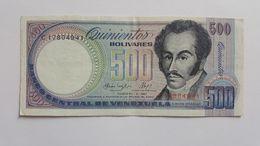 VENEZUELA 500 BOLIVARES 1987 - Venezuela