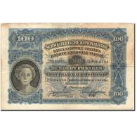 Billet, Suisse, 100 Franken, 1921-1928, 1943-05-07, KM:35o, TB - Suiza