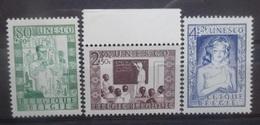 BELGIE 1951    Nr. 842 - 844    Postfris **   CW  25,00 - Unused Stamps