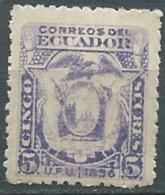 Equateur - Yvert N° 60  *  ( Lourde )  -  Po56508 - Ecuador