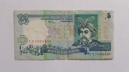 UCRAINA 5 HRYVEN 2001 - Ukraine