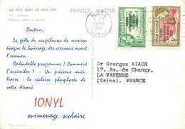 Afrique > Ghana - Gold CoastGHANA FEMMES PILANT LE MANIOC  CARTE TIMBRES GOLD COAST 1959 VOIR IMAGES - Ghana - Gold Coast