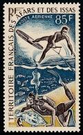 AFARS ET ISSAS 1968 - Yv. PA 58 ** SUP Variété  Cote= 8,00 EUR - Sports Nautiques  ..Réf.AFA22797 - Afar- Und Issa-Territorium (1967-1977)