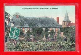 76-CPA HAUTOT SAINT SULPICE - CARTE TOILEE - France