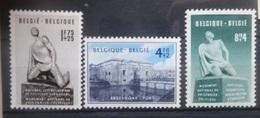 BELGIE 1951    Nr. 860 - 862    Spoor Van Scharnier *   CW  38,00 - Unused Stamps