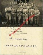 Carte Photo-26e Régiment 6e Compagnie-photo P. Valck Nancy-1946? - Guerra, Militares
