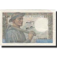 France, 10 Francs, 1945-04-19, KM:99b, SUP, Fayette:8.13 - 1871-1952 Anciens Francs Circulés Au XXème