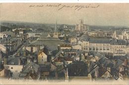 1. TROYES . PANORAMA PRIS DE LA MADELEINE . ECRITE LE 21-7-1916 AU VERSO - Troyes