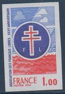 FRND 1976 Anniversaire De L'association Des Français Libres   N° YT 1885  ** MNH - France