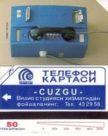 TARJETA TELEFONICA  DE UZBEKISTAN. (001) - Uzbekistan