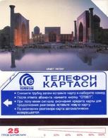 TARJETA TELEFONICA  DE UZBEKISTAN. (002) - Usbekistan