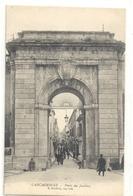 CARCASSONNE . PORTE DES JACOBINS . Imp-edt E. ROUDIERE . ANIMEE - NON ECRITE - Carcassonne