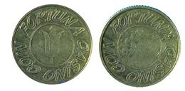 02677  GETTONE TOKEN JETON THE NETHERLANDS GAMING SLOT MACHINE CASINO COIN FORTUNA - Casino