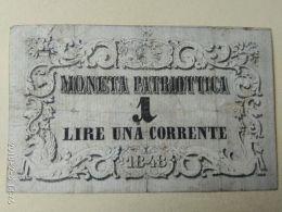 1 Lira 1848 - [ 3] Emissions Militaires